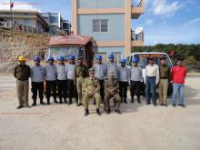 Group photo of civil Defence