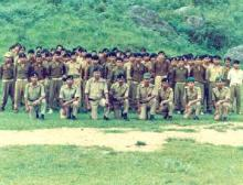 Home Guards Volunteers Basic Training,Mawkyrwat 1988.